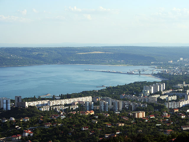 View to the Bay of Varna